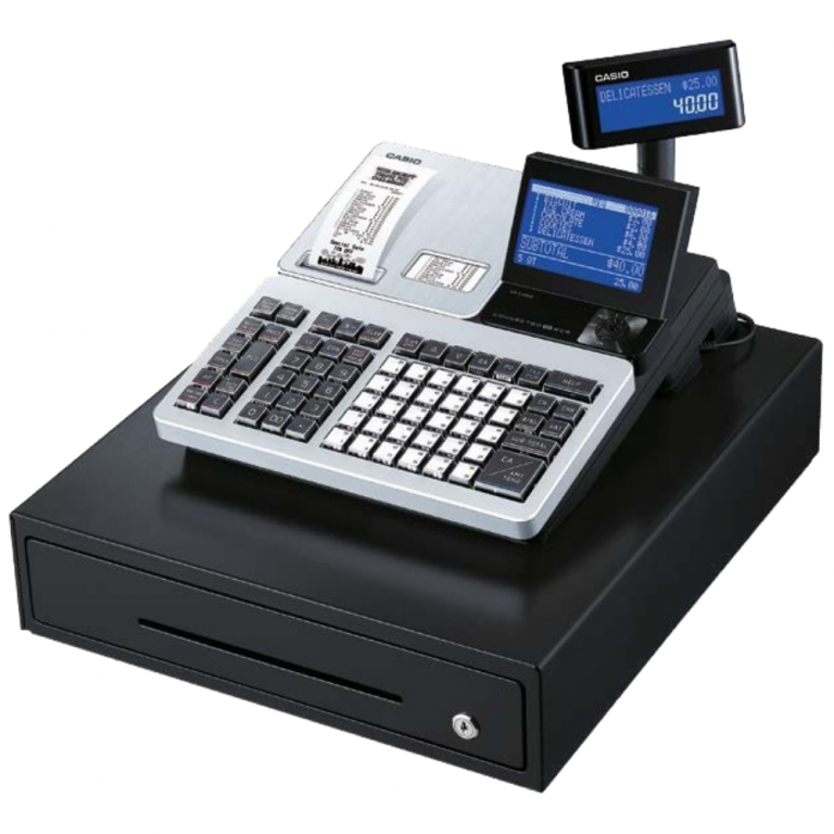Casio SR-S4000 Cash Register