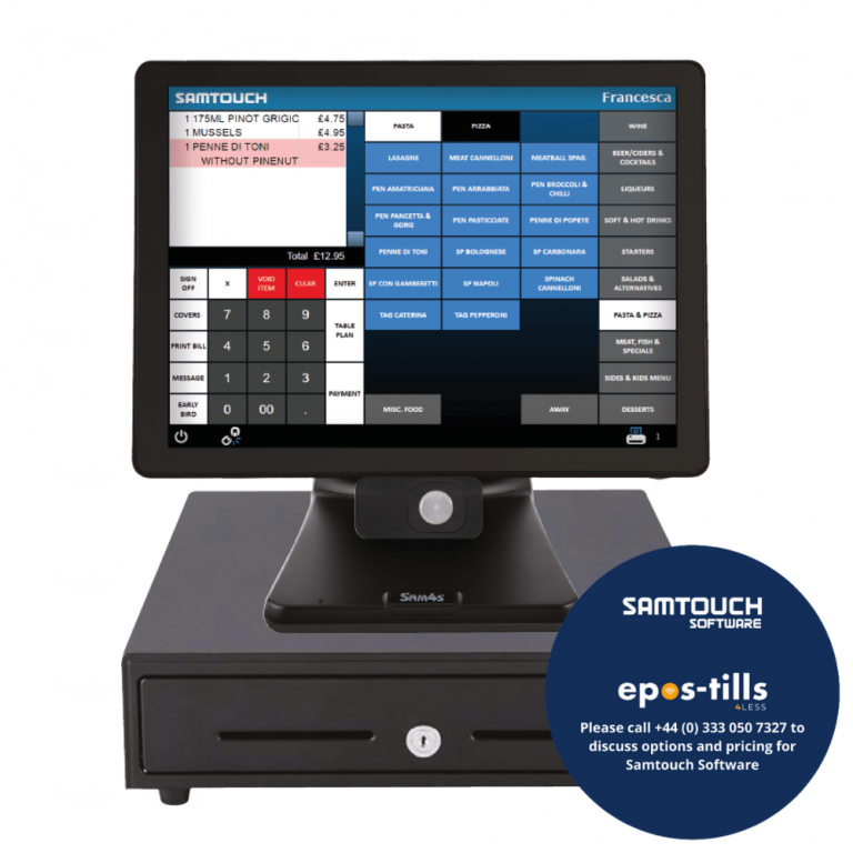Samtouch Windows ePOS Software