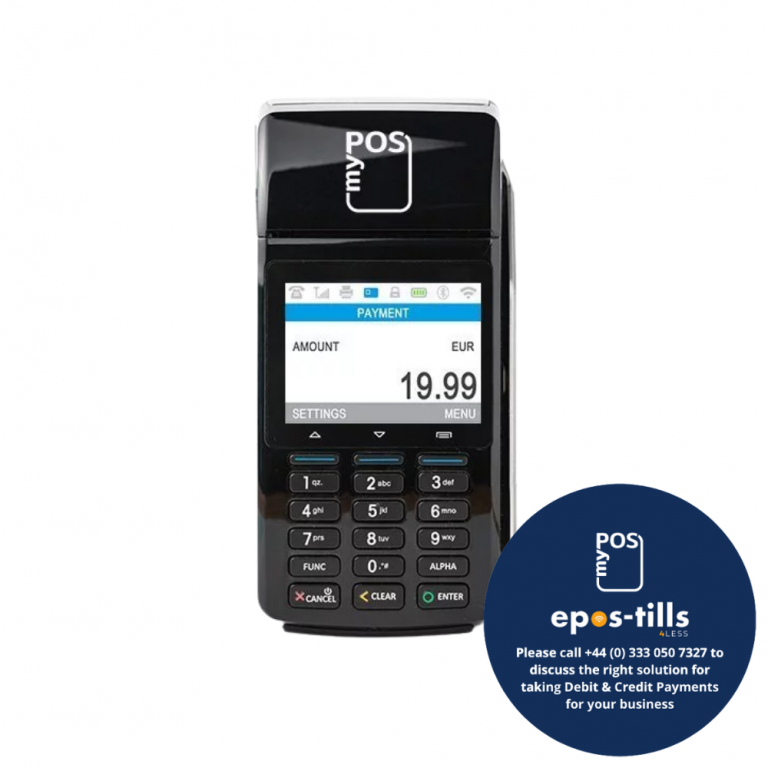 myPOS 3G Combo Chip n Pin Terminal