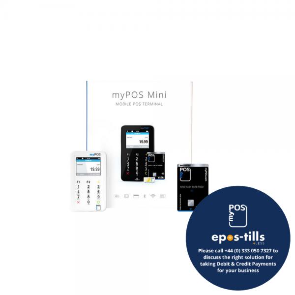 myPOS Mini Portable Chip n Pin Card Reader Terminal