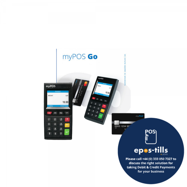 myPOS Go Portable Chip n Pin Card Reader Terminal