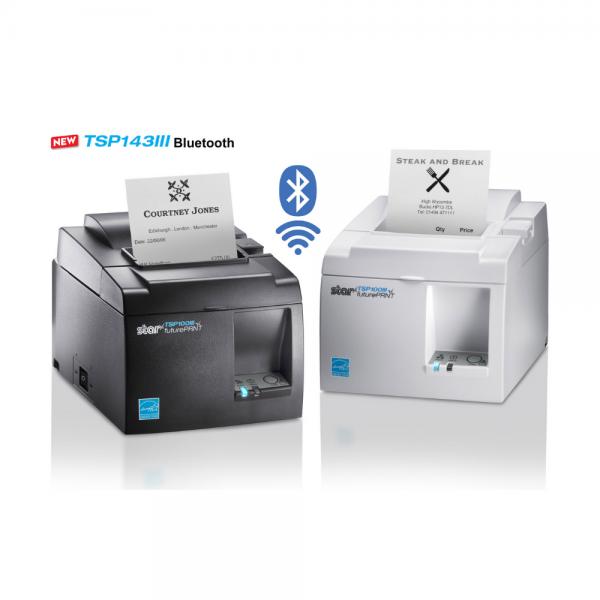 Star TSP143III Bluetooth Thermal Receipt ePOS - mPOS Printer