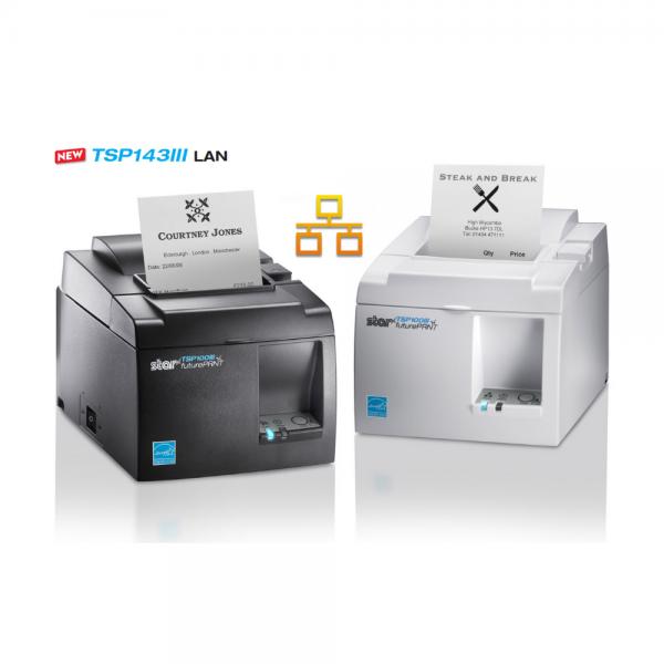 Star TSP143III LAN Thermal Receipt ePOS - mPOS Printer
