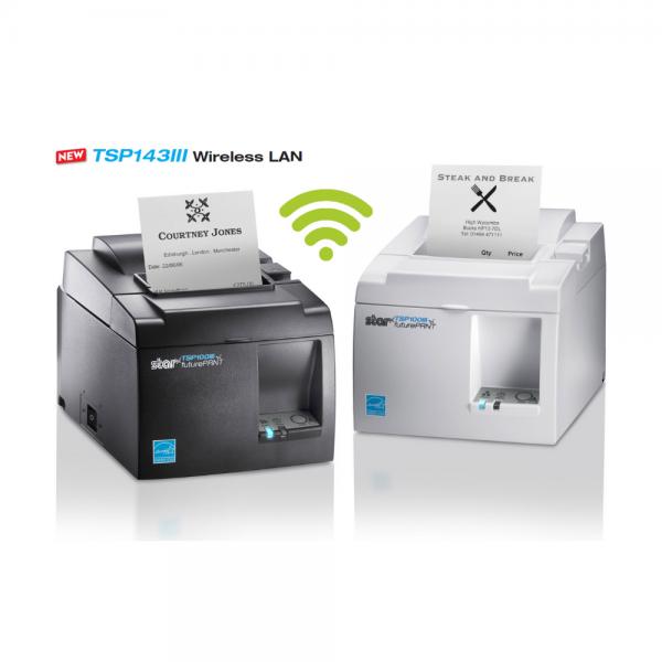 Star TSP143III WLAN Thermal Receipt ePOS - mPOS Printer